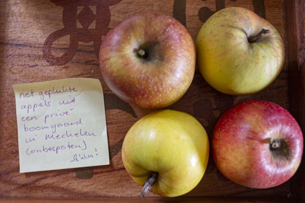 appeltjes uit Mechelen