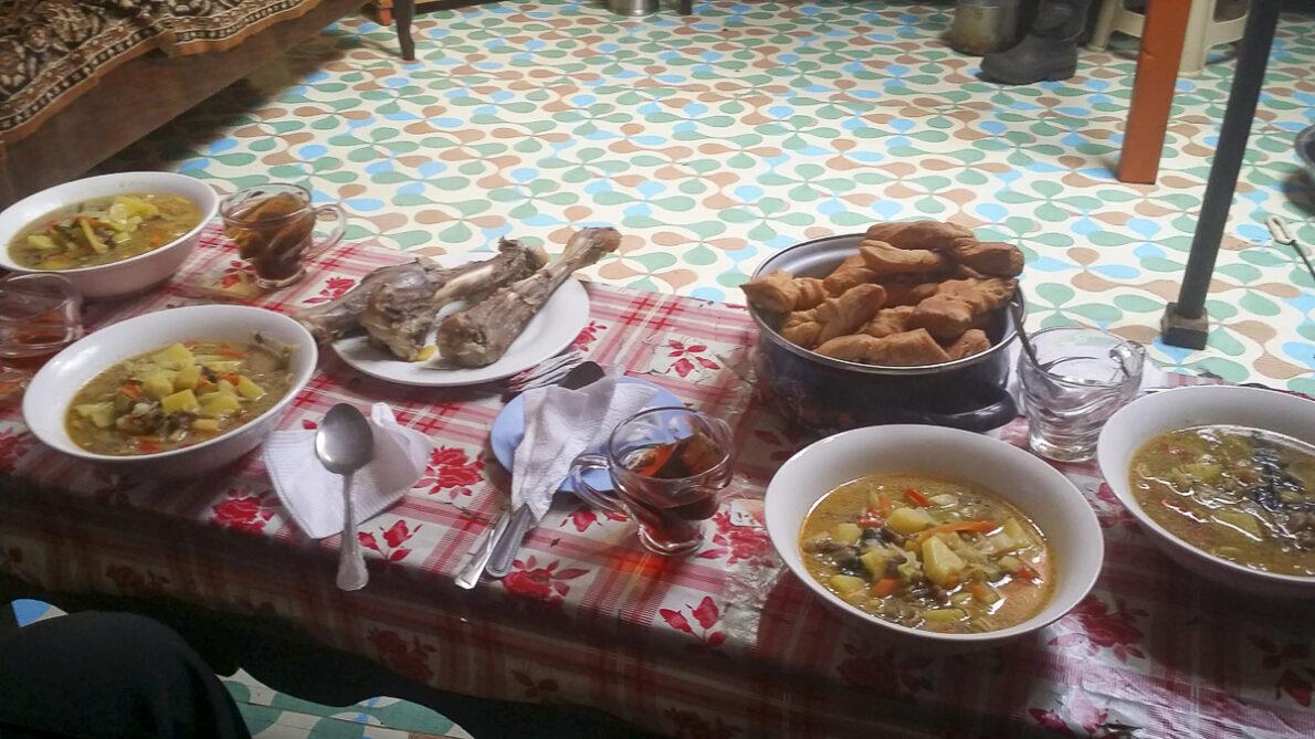 Eten in Mongolië