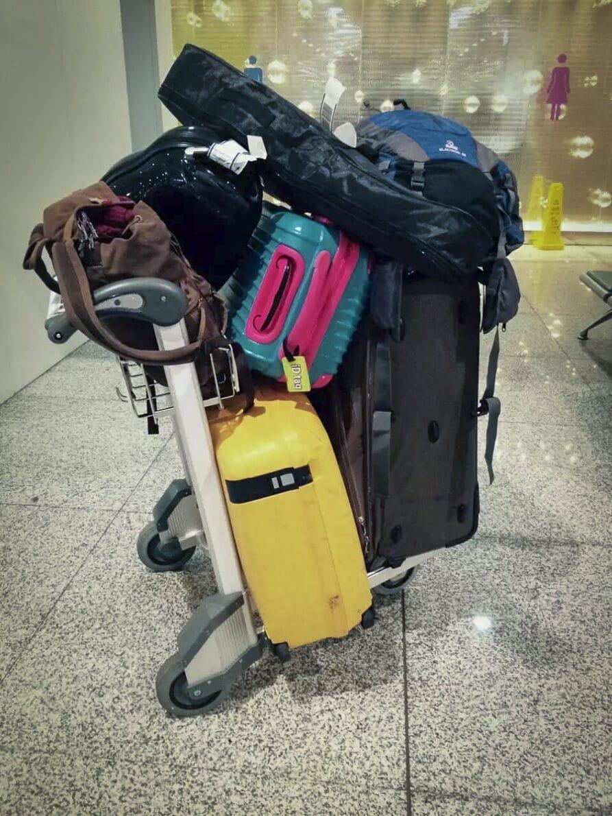 Minder-bagage-meenemen