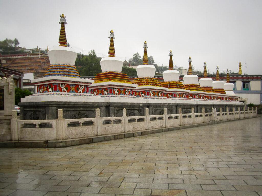 Rondreis door Noordwest China, Kumbum monastry