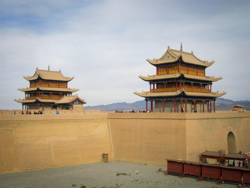 Jiayuguan pass in China