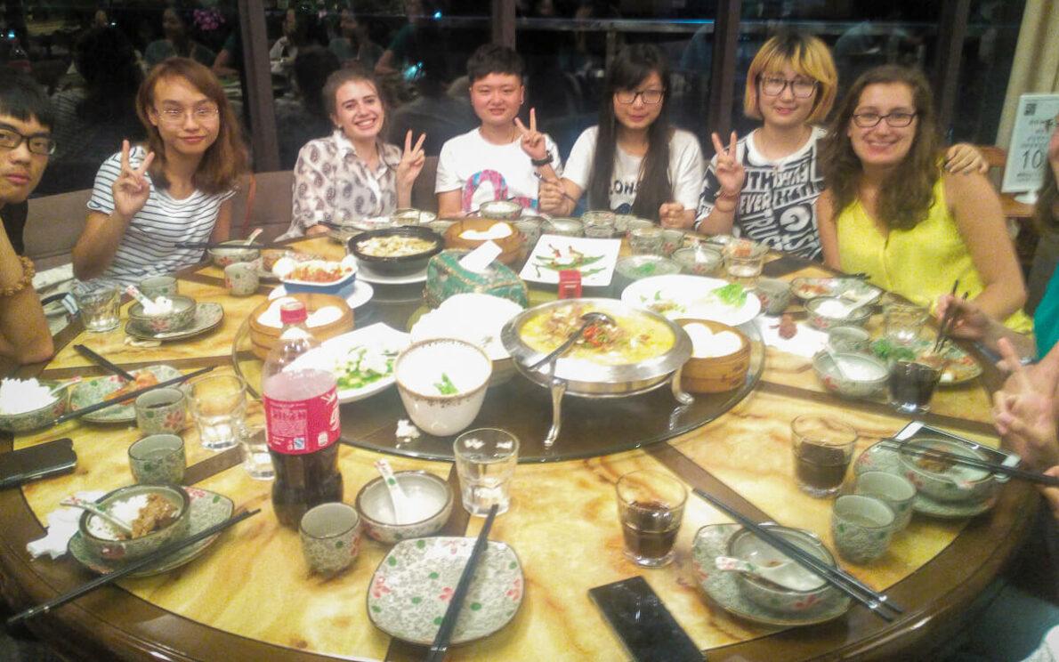 Eten in China, restaurant