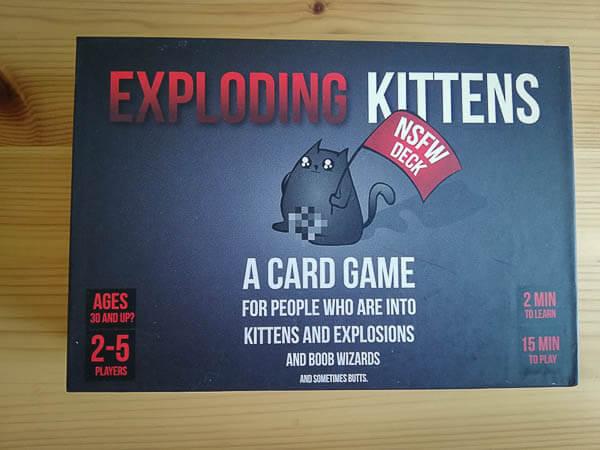 Exploding kittens spel