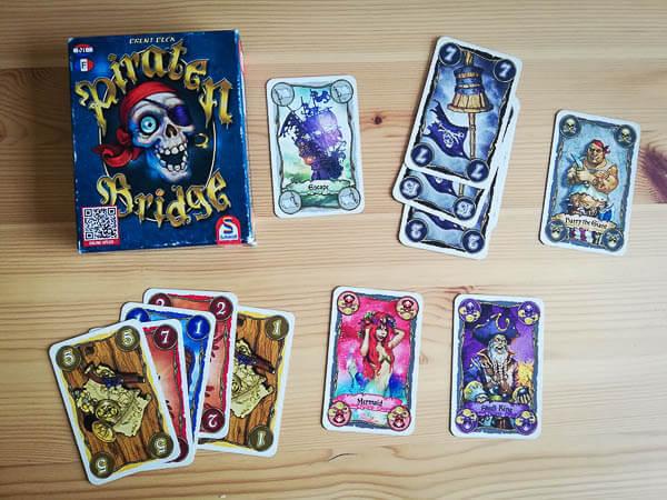 Piraten bridge, vakantie spel