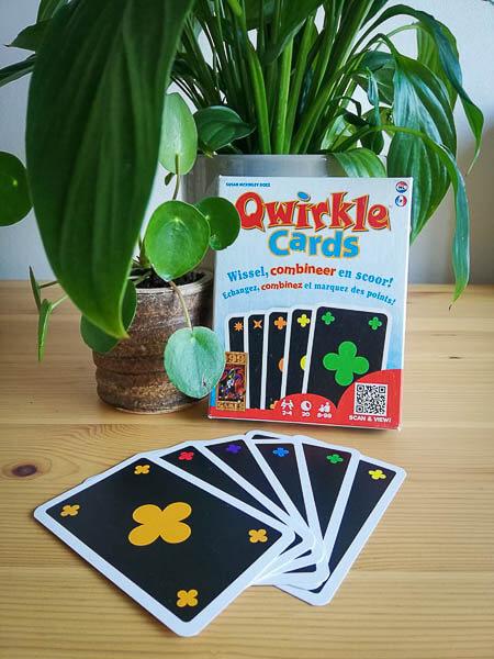 Qwirkle cards, reisspellen