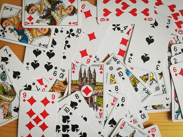 Stok kaarten, vakantie spellen
