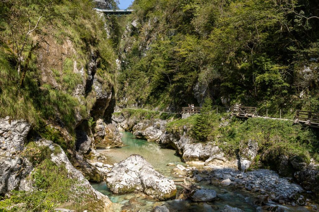 Tolmin kloof, Slovenië
