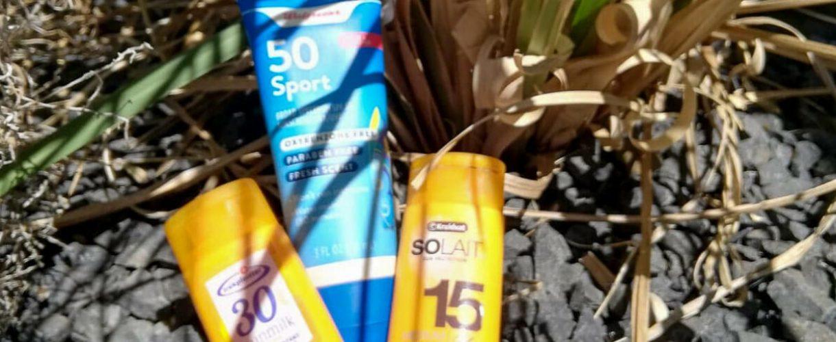 Duurzame zonnebrand