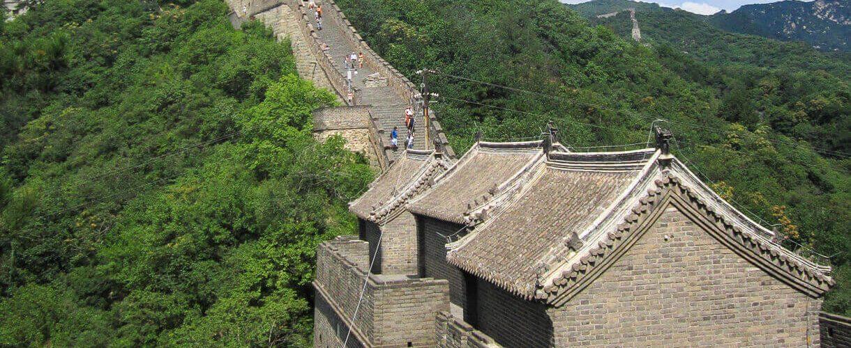 Chinese muur reizen in Azië